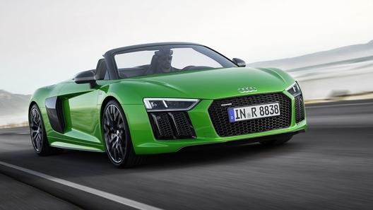 Компания Audi представила свою самую мощную открытую модель