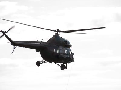 В Словакии рухнул украинский вертолет. Шесть человек погибли