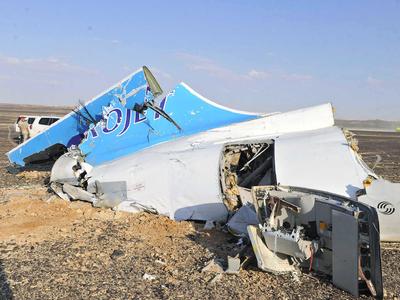 Следственный комитет изъял документы по разбившемуся A321