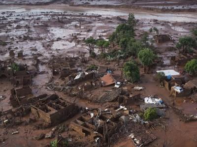 Акции BHP и Valе упали из-за катастрофы в Бразилии