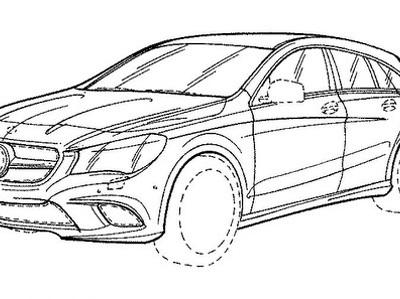 Mercedes-Benz готовится к обновлению универсала CLA