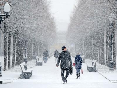 В Москве сохранятся пасмурная погода и небольшие снегопады