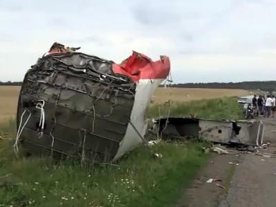 В Голландию доставлены останки жертв авиакатастрофы на Украине