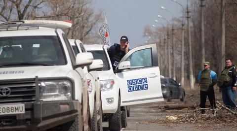 Басурин: ОБСЕ зафиксировало факты перемещения тяжелой техники ВСУ