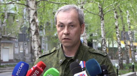 Басурин: ситуация в Донбассе требует вмешательства международного сообщества