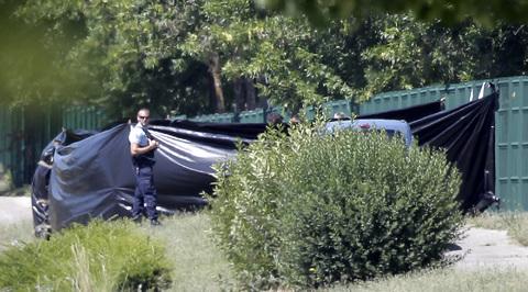 Теракт во Франции: подозреваемый признался в убийстве