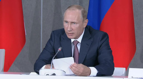 Путин приостановил действие договора о ЗСТ с Украиной