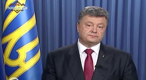 Порошенко пообещал вернуть электроэнергию Крыму, а Крым - Украине