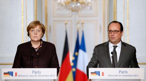Меркель и Олланд призвали Москву и Анкару к совместной борьбе с ИГ