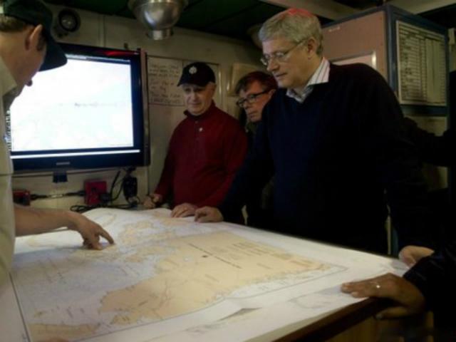 Премьер-министр Канады Стивен Харпер считает, что это открытие очень важно для истории страны (фото Parks Canada).