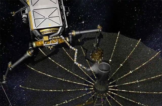 Роботы-ремонтники смогут чинить антенны и исправлять эксплуатационные неполадки (иллюстрация DARPA).