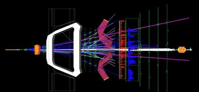 Машины БАК производят 40 миллионов столкновений в секунду (фото CERN).