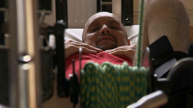 Фидика проводил по пять часов на физиотерапии ежедневно, но результат дала только пересадка здоровых клеток (фото University College London).