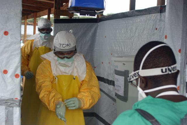 Сдерживание эпидемии должно быть строго пропорционально её росту (фото Wikimedia Commons).
