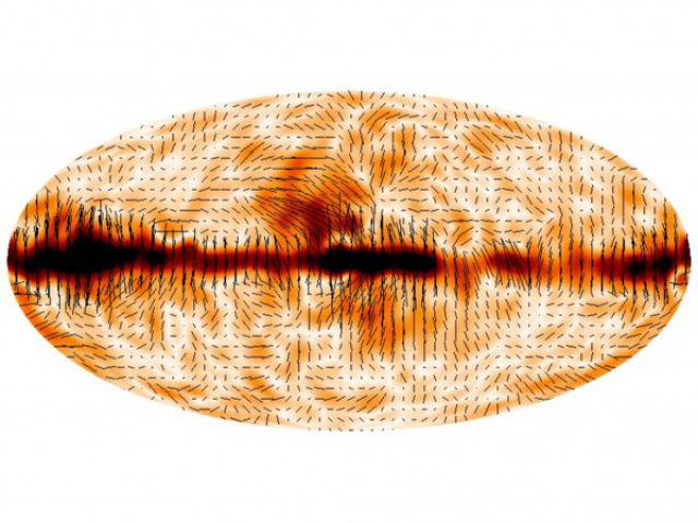 Астрофизики изучают поляризацию реликтового излучения и надеются найти аномалию (иллюстрация ESA/Planck Collaboration).