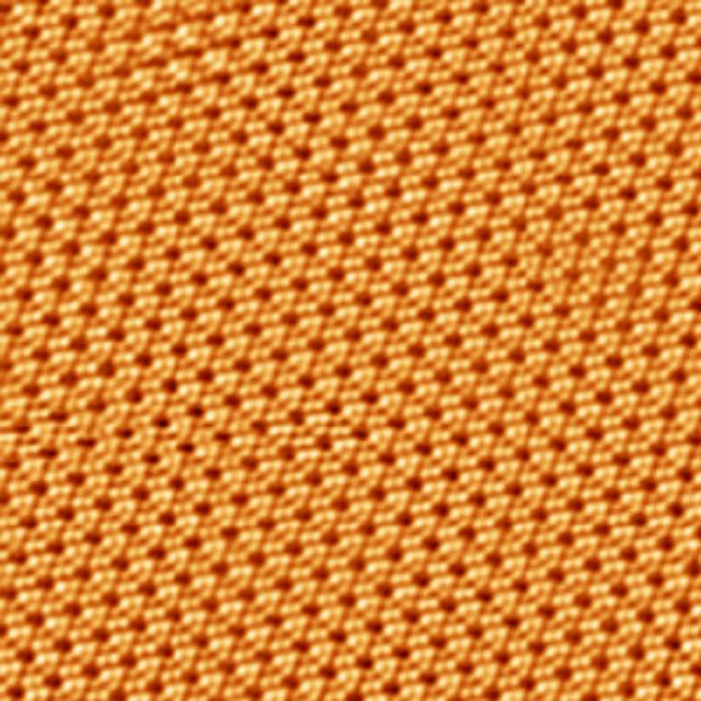 Микрофотография пласта силицена, полученная сканирующим электронным микроскопом (фото University of Texas).