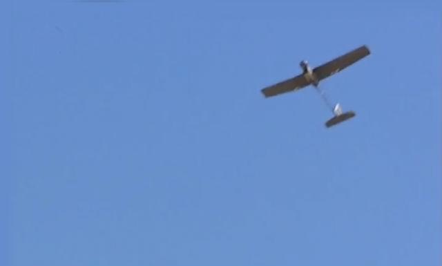Испытания с настоящим беспилотником прошли успешно (фото Tekever).
