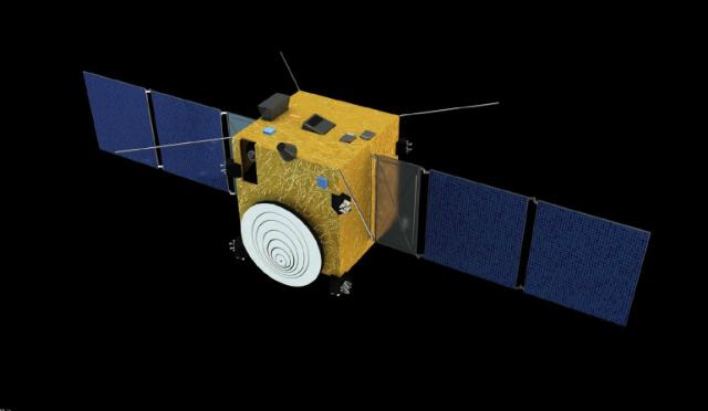 Аппарат Asteroid Impact Mission в представлении художника (иллюстрация ESA / The Science Office Ltd).