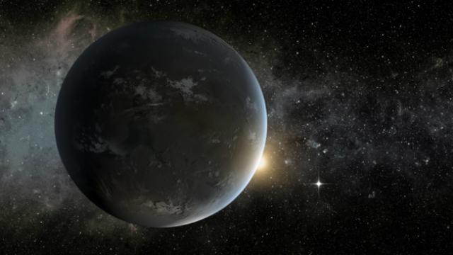 Для определения массы далёких планет используется свет звезды (фото NASA/Ames/JPL-Caltech).