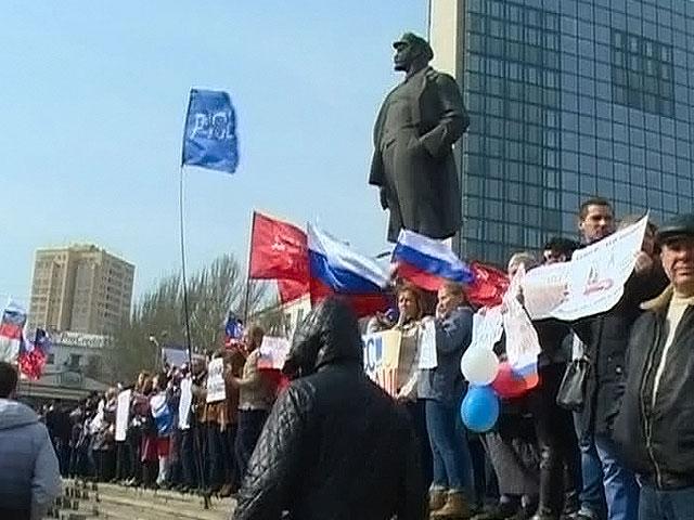Донбасс хочет отделиться от Украины