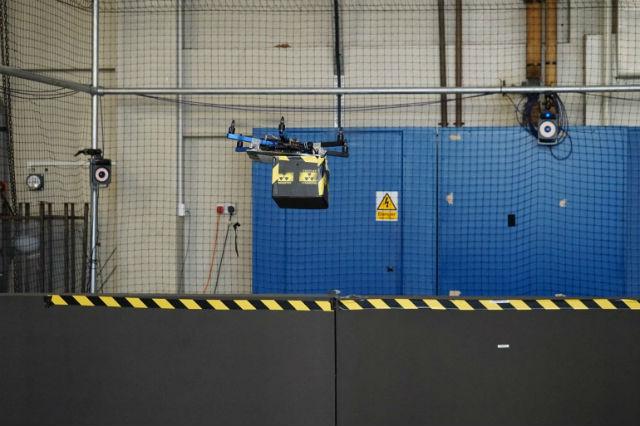 Конструкция, которая осуществляет печать (фото Aerial Robotics Lab).
