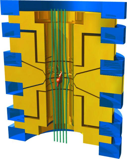 Золотые наномоторчики вращались со скоростью 150 тысяч оборотов в минуту
