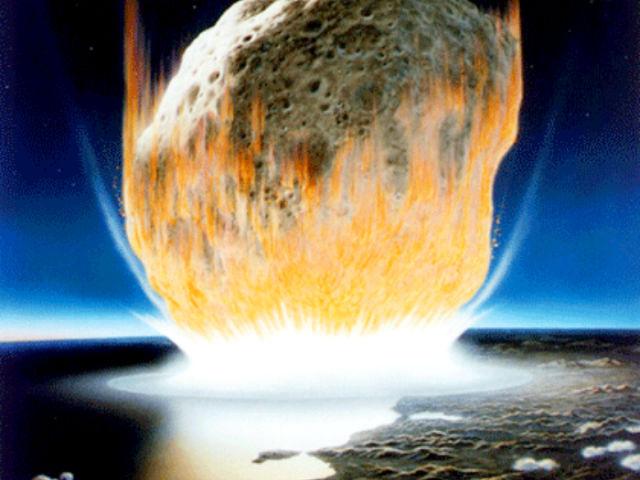 За 8-10 лет до падения астероида стали вымирать травоядные трицератопсы и гадрозавры (иллюстрация Wikimedia Commons).