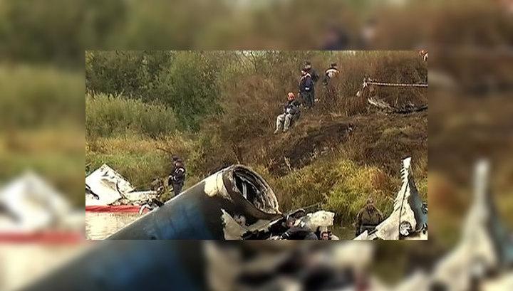в катастрофе Як-42.