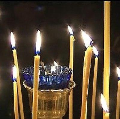 Родственники погибших в катастрофе аэробуса А320 собрались в г.Хальтерн в церкви святого Сикстуса