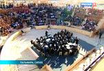 Оркестра Мариинки под управлением Валерия Гергиева дал уникальный концерт в Пальмире