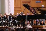 Люка Дебарг выступил в Консерватории с Большим Симфоническим оркестром