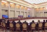 Состоялось совместное Заседание президентских Советов - по культуре и искусству и по русскому языку