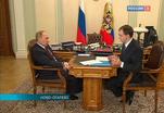 Путин провел рабочую встречу с министром культуры
