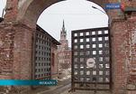 Оползень угрожает Никольскому собору на территории Можайского кремля