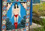 Искусство на надгробии: веселое румынское кладбище