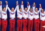 Российские синхронистки вернулись из Барселоны
