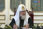 Патриарх Кирилл посетил Валаамский монастырь