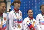 Российские фехтовальщицы стали героинями Универсиады