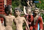 Скульптурные ансамбли в финском посёлке Керимяки