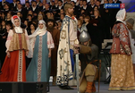 1025-летию Крещения Руси посвятили грандиозный концерт на Красной площади
