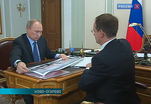 Президент встретился с министром культуры