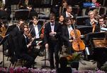 В Москве выступил Люксембургский филармонический оркестр
