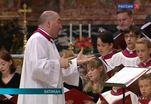 Московский синодальный хор и хор Сикстинской капеллы вместе приняли участие в папской мессе в Ватикане