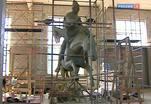 Скульптура Георгия Победоносца работы Владимира Соскиева будет установлена в горах Северной Осетии