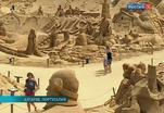 В Португалии проходит фестиваль песчаных скульптур