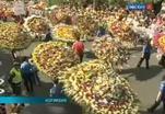 Фестиваль-парад цветов прошел в Колумбии