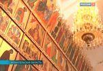 Патриарх Кирилл отслужил праздничную литургию в Спасо-Преображенском Соборе Соловецкого монастыря