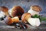 Жареные грибы  по-датски