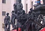 В Москве открыли скульптурную композицию, посвященную войнам XX века