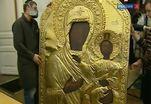 Завершились работы по спасению уникальной Смоленской иконы Богоматери